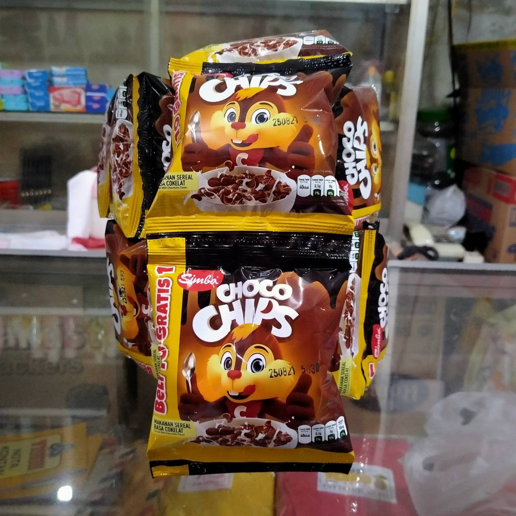 [RCG] 500an Simba Choco Chip 10pcsx6gram per Renteng