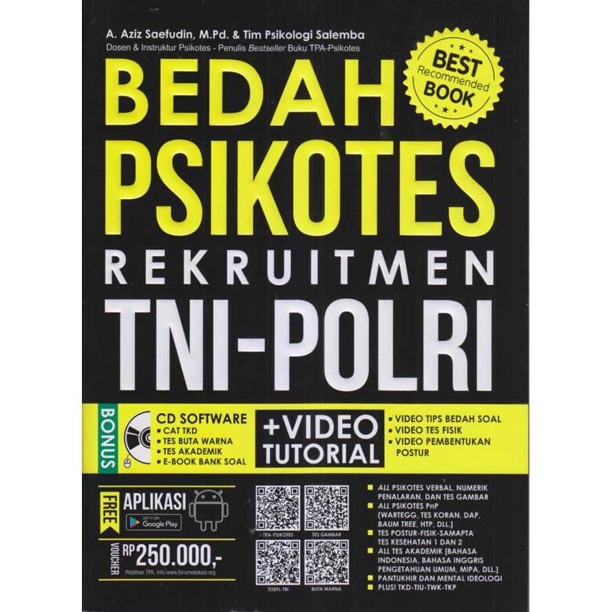 Free Notes Best Seller Bedah Psikotes Rekruitment Tni Polri