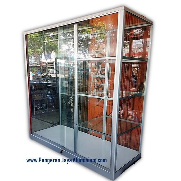 Lemari Baju 150 Cm Pangeran Jaya Aluminium Free Onkir Khusus Jabodetabek Shopee Indonesia