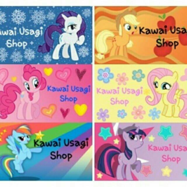 Stiker Nama Label Custom My Little Pony Shopee Indonesia