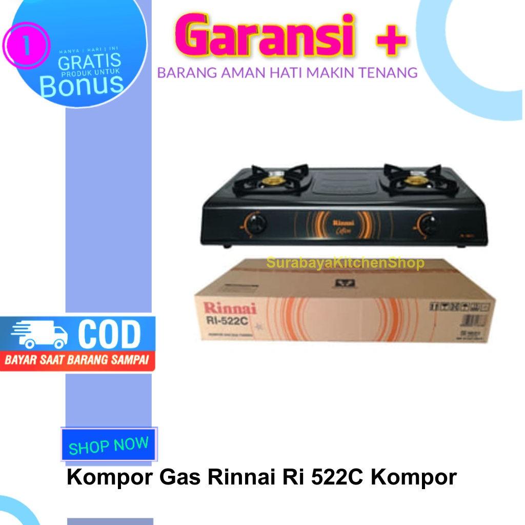 Kompor Gas Rinnai Ri 522C 2 Tungku