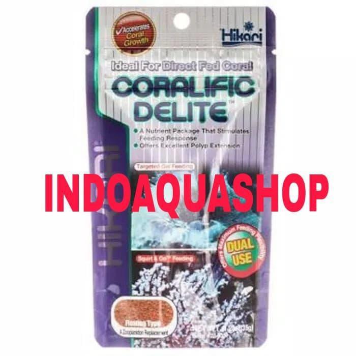 Hikari Coralific Delite Fish Food For Marine Shopee Indonesia