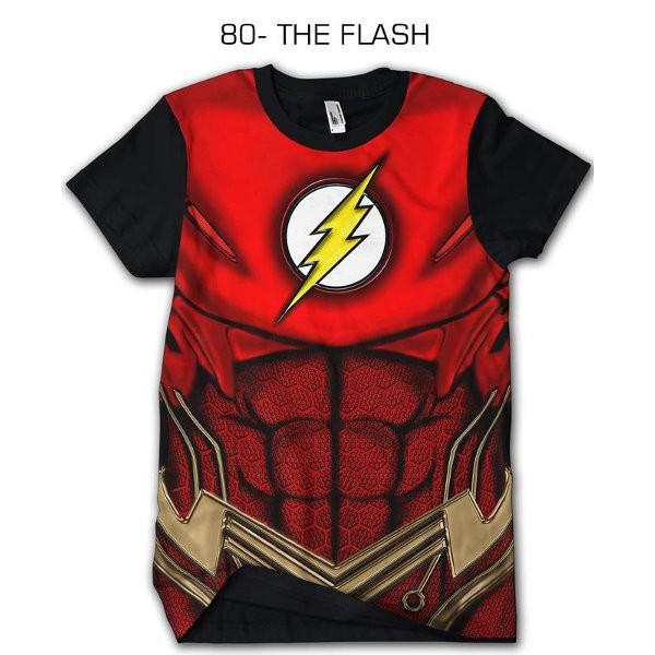 Kaos Keren Kaos 3d Superhero 80 The Flash Baju Cowok Cewek Kaos Anak Kekinian Gaul Abis Shopee Indonesia