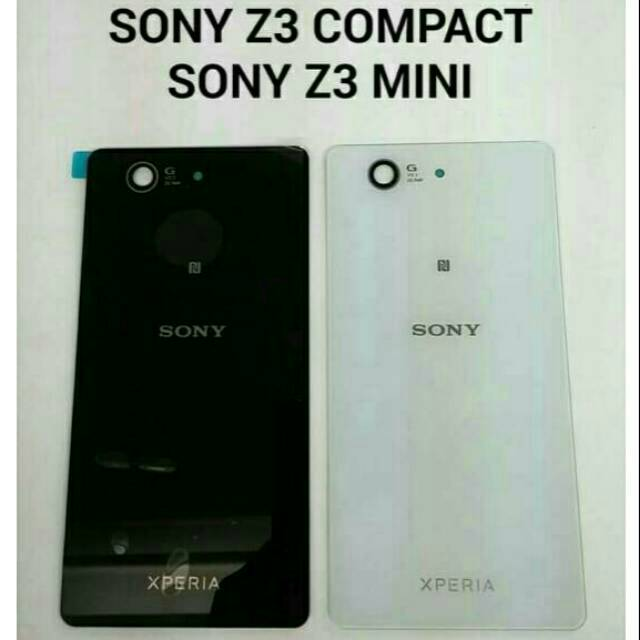 BACKDOOR BACK COVER TUTUP BELAKANG SONY XPERIA Z3 COMPACT / Z3 MINI TUTUP BATERAI CASE | Shopee Indonesia