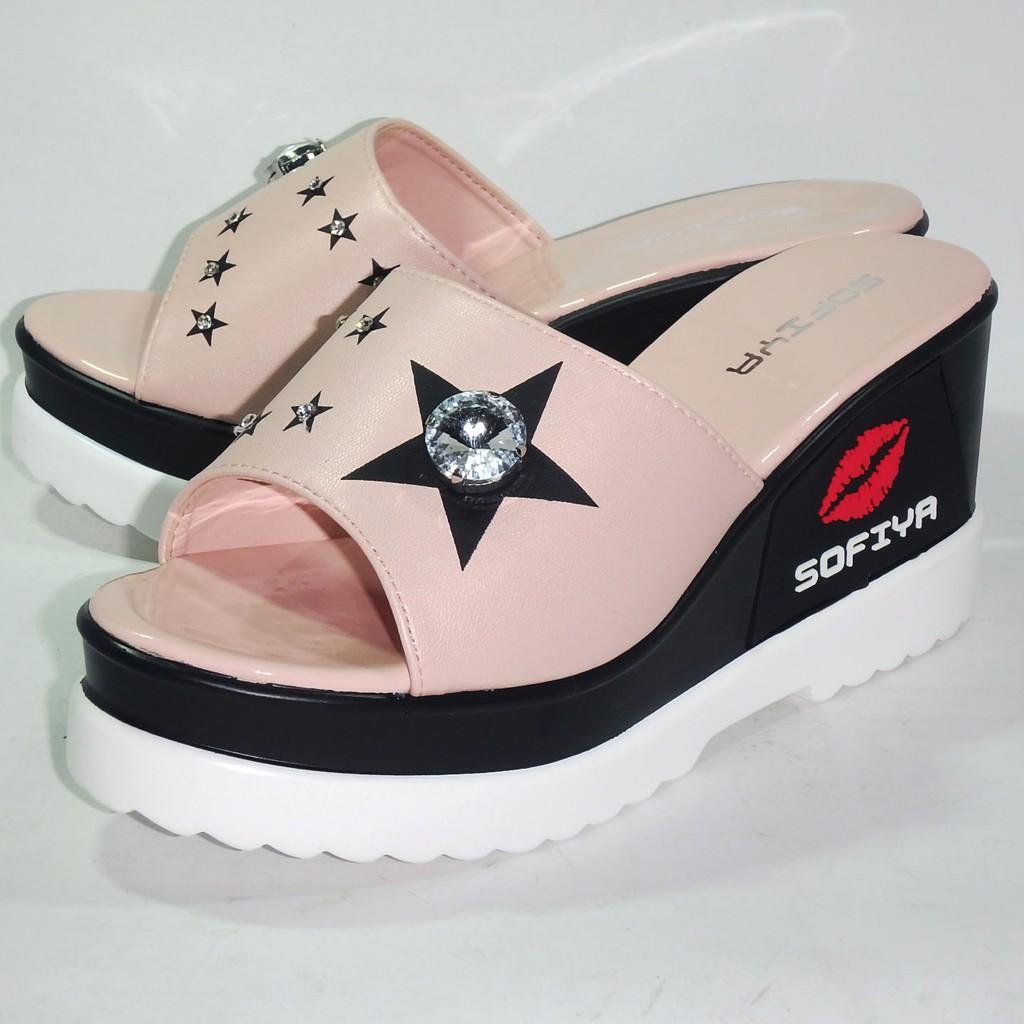 sandal wanita sofiya - Temukan Harga dan Penawaran Wedges Online Terbaik -  Sepatu Wanita Maret 2019  3015355584
