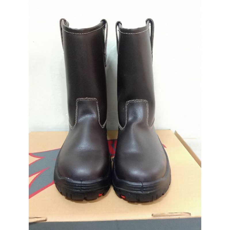 Sepatu Safety AETOS LITHUM BROWN