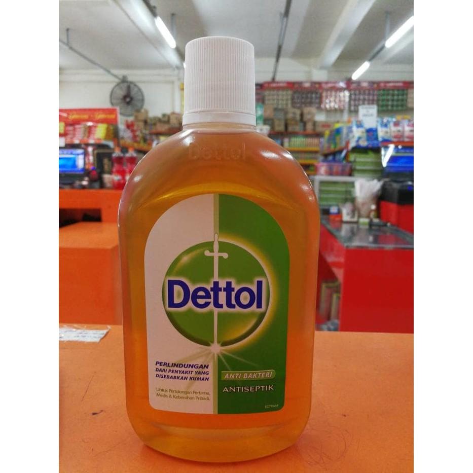 Promo Dettol Antiseptik 500 Ml Termurah 2018 Cair 100ml Antiseptic Liquid Botol 500ml Disinfektan Shopee Indonesia