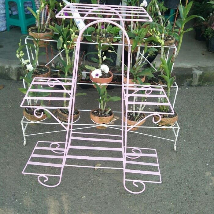 Rak Besi Rak Bunga Besi Rak Pot Bunga Shopee Indonesia