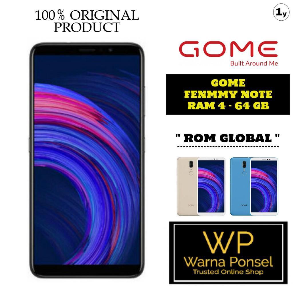 GOME Fenmmy Note Ram 4/64GB Garansi 1 Tahun [ HP / Tablet ]