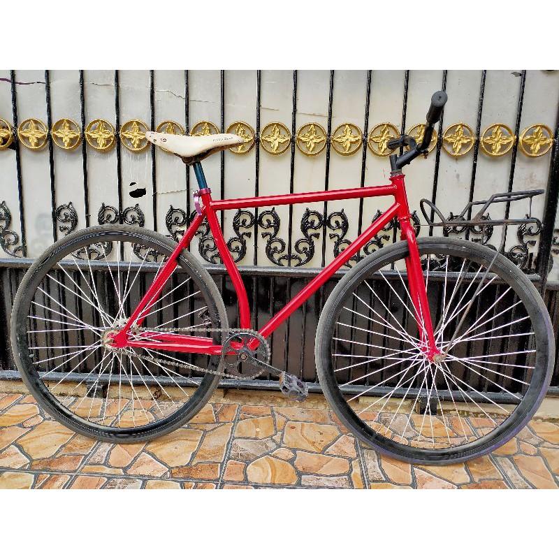 Fullbike Sepeda Fixie Classic Vintage Klasik Keranjang Shopee Indonesia