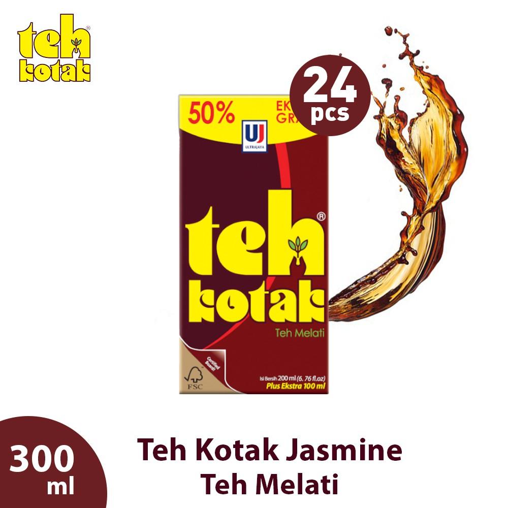 Teh Kotak Jasmine 300 Ml Box Isi 24 Pcs Shopee Indonesia
