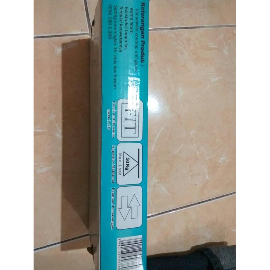 OBRAL ! bracket / braket / breket tv lcd led plasma 10 - 32 flexible