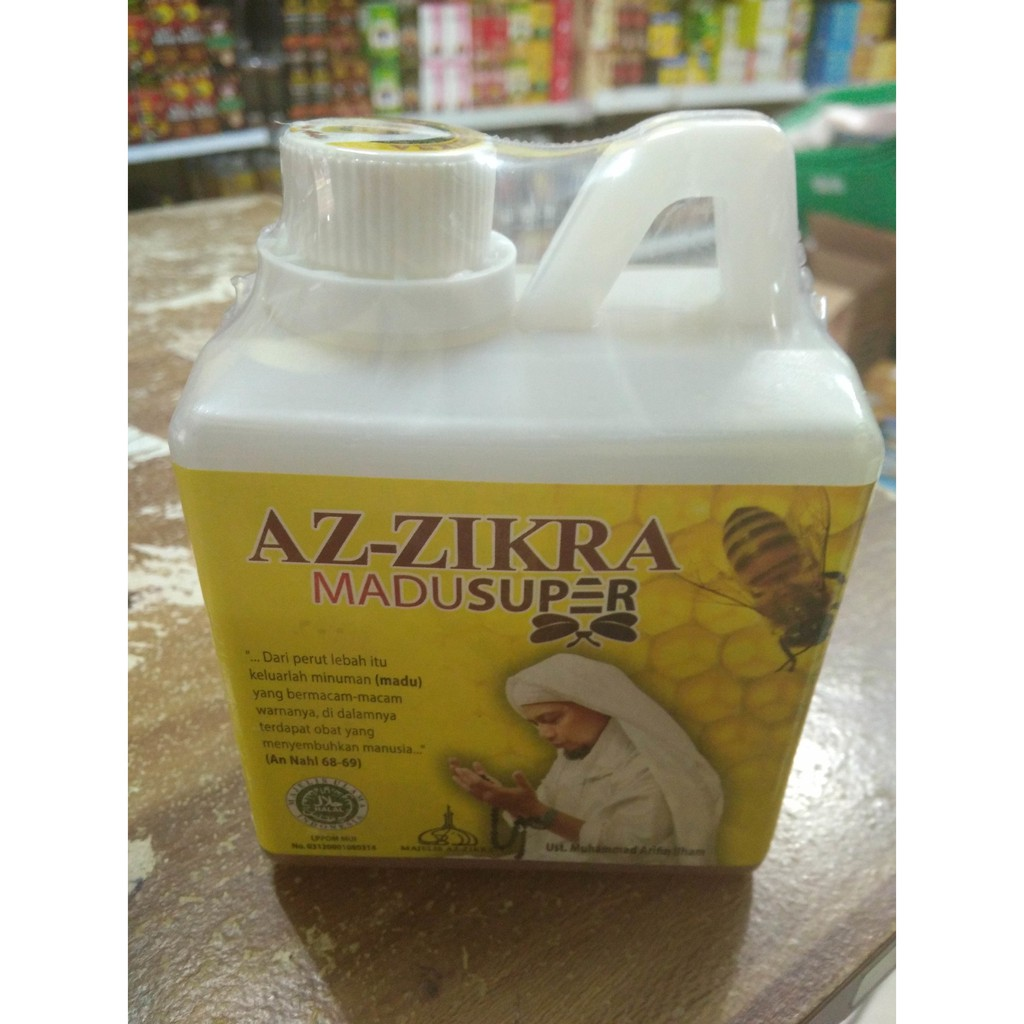 Paling Dicari Madu Azzikra Ust Arifin Ilham Shopee Indonesia Az Zikra Super 500 Gram Aseli
