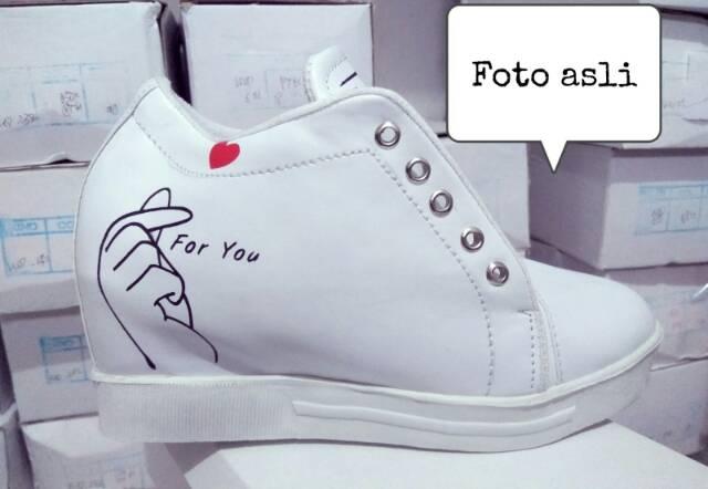 """New!!!! Good quality!!!Sepatu but wanita hak dalam """"for you"""" md 60"""