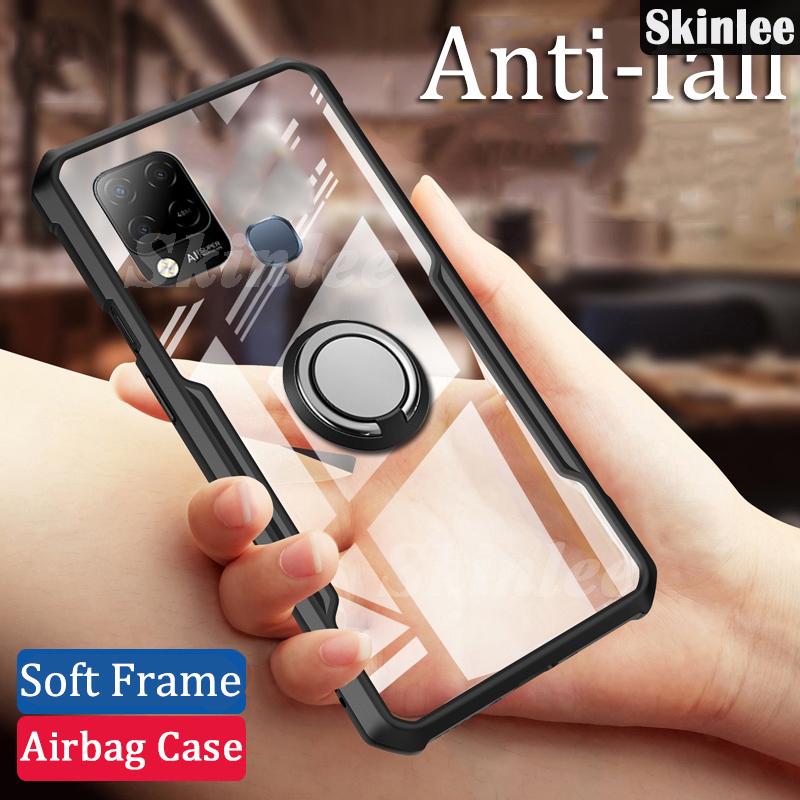 Soft Case Hp Transparan Tahan Goncangan Untuk Infinix Hot 10s / 10 Play Kesing HP