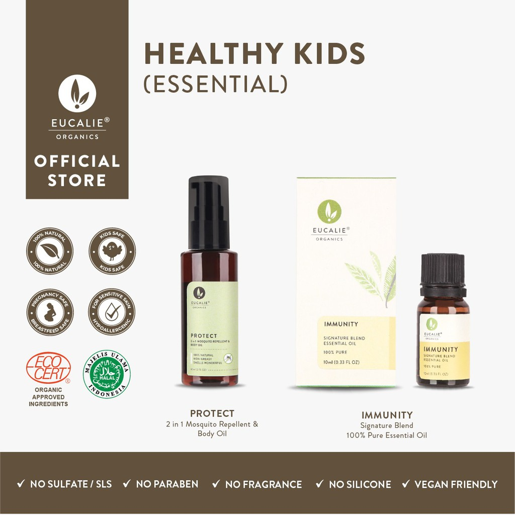 Eucalie Paket Healthy Kids