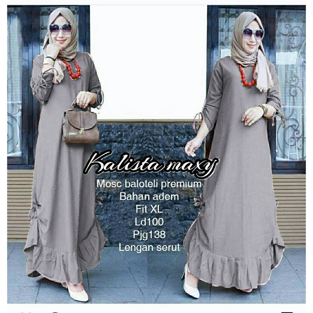 Belanja Online Dress Muslim - Fashion Muslim  e6d9f11fa6