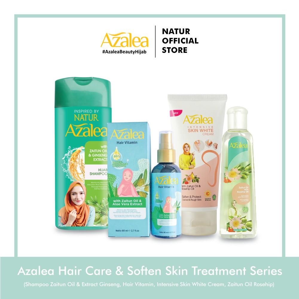 Azalea Hair Care and Soften Skin Treatment Series