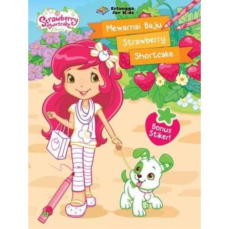 Belajar Mewarnai Bersama Strawberry Shortcake Buku Murah Erlangga