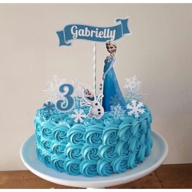 Buttercream Cake Karakter Kue Tart Anak Karakter Cewek Cowok Kue Ulang Tahun Custom Birthday Cake Shopee Indonesia