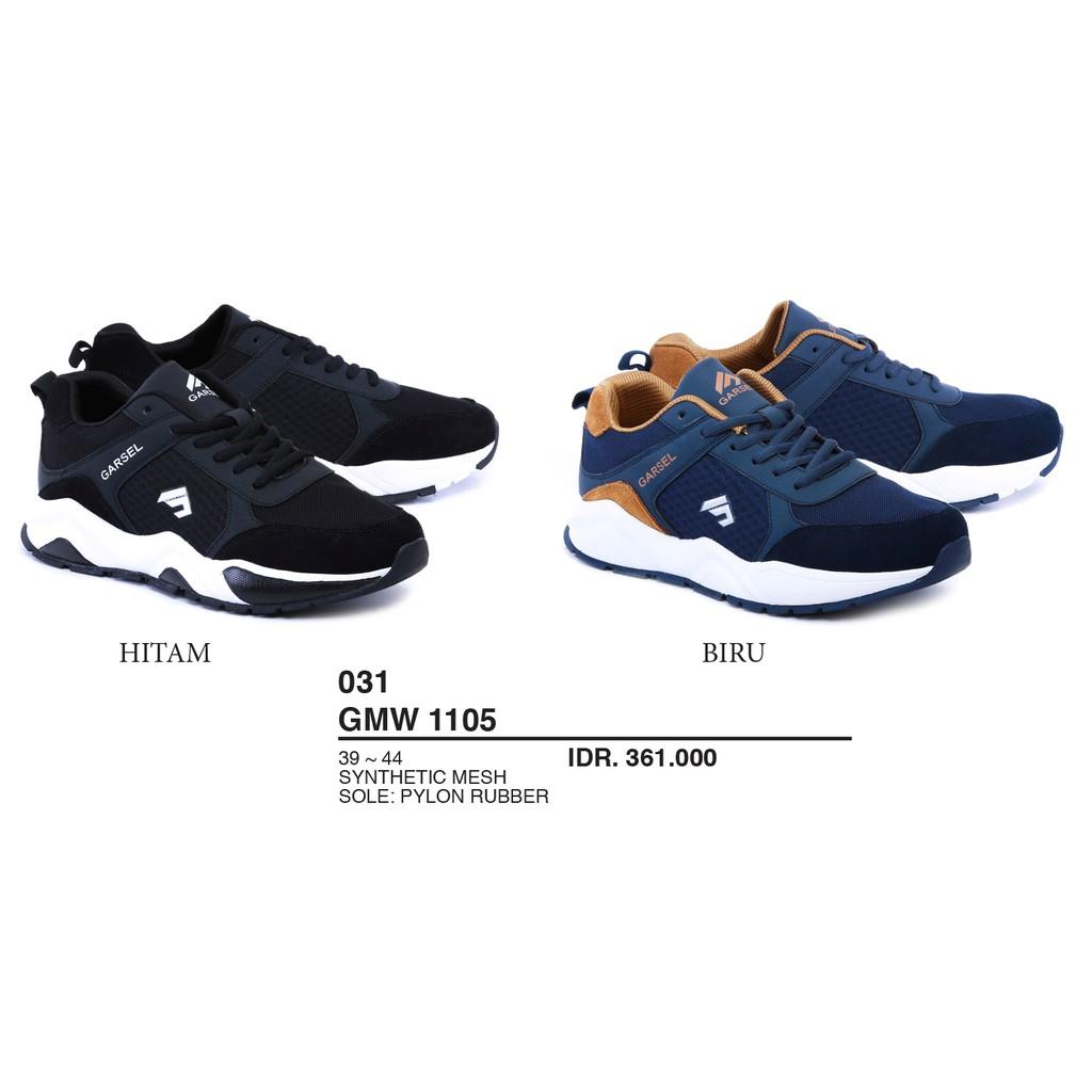 Sepatu Sport Terbaru Pria Garsel Shoes Gmw 1105 Shopee Indonesia
