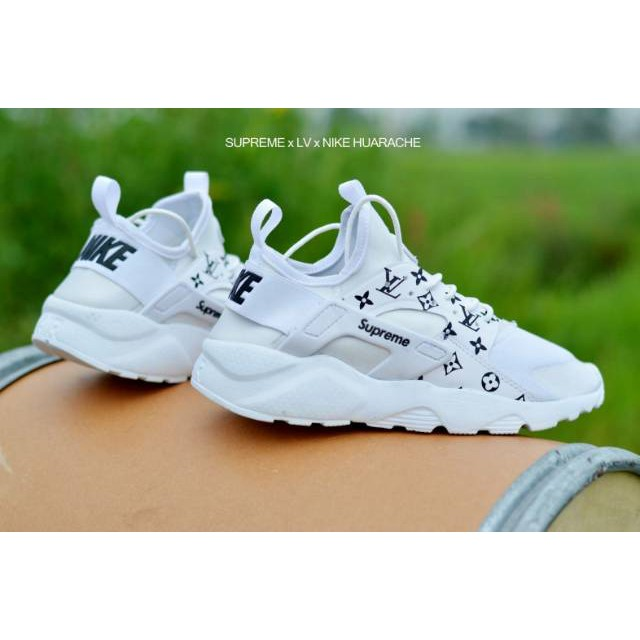 Nike Supreme LV Huarache Woman Grade Ori Vietnam Sepatu Olahraga Wanita  Terbaru Termurah Terbaik  8b1e490049