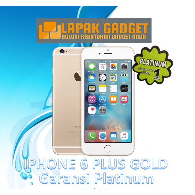Unik Iphone 6 Plus 64gb Refurbished Garansi Distributor 1 Tahun