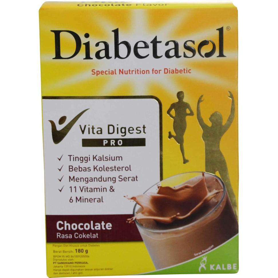 Diabetasol Vita Digest Coklat 180 Gr Shopee Indonesia 600