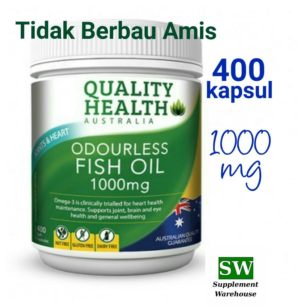 Blackmores Odourless Fish Oil 1000mg Mini Caps 400 Shopee Minyak Ikan Omega 3 Black Mores Isi Indonesia