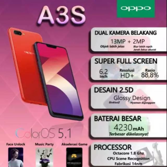 Oppo A3S Ram 3