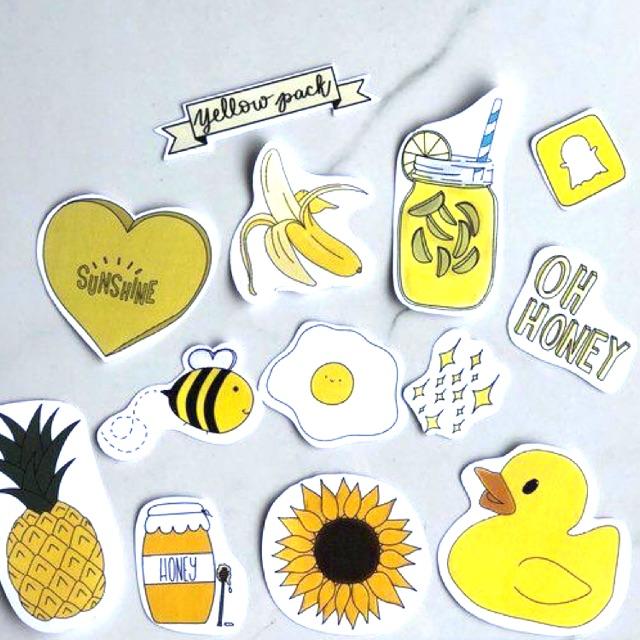 Stiker Tumblr Aesthetic Shopee Indonesia