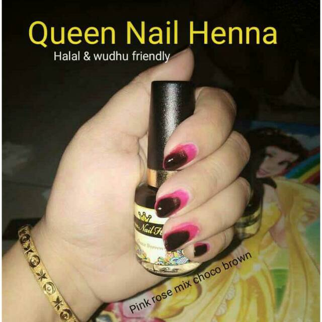 Queen Nail Henna Natural Shopee Indonesia