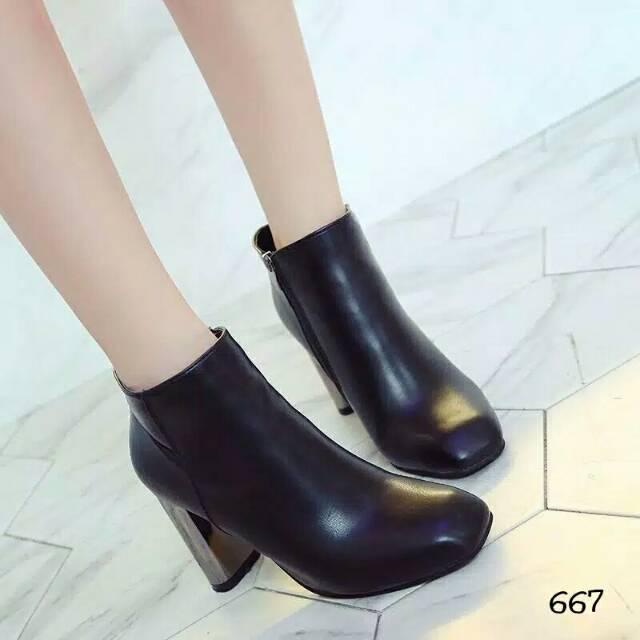 heels korea - Temukan Harga dan Penawaran Boots   Ankle Boots Online  Terbaik - Sepatu Wanita Februari 2019  a736c82751