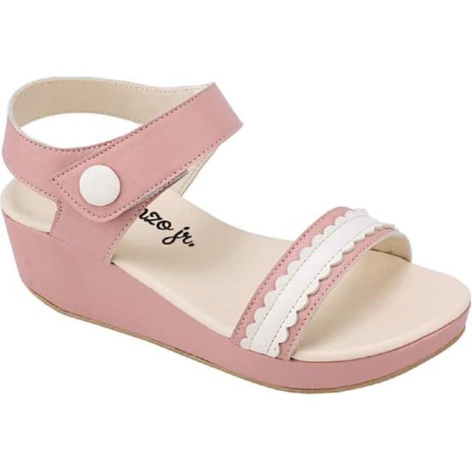 Sandal Wedges Casual Anak Perempuan pink Catenzo Junior CNR 022 murah  79305d66f6