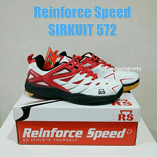 Sepatu badminton  bulutangkis Reinforce Speed Super Liga 802 original RS  b35ceb2993