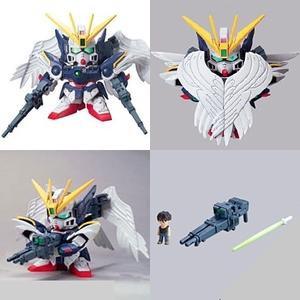 203 BANDAI W-Gundam Wing Zero Custom GUNPLA SD Gundam BB Senshi Vol
