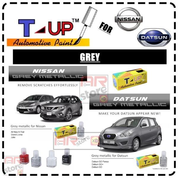 Auto Paint Touch Up >> Nissan Datsun Grey T Up Touch Up Paint Cat Oles Penghilang Baret Dan Lecet