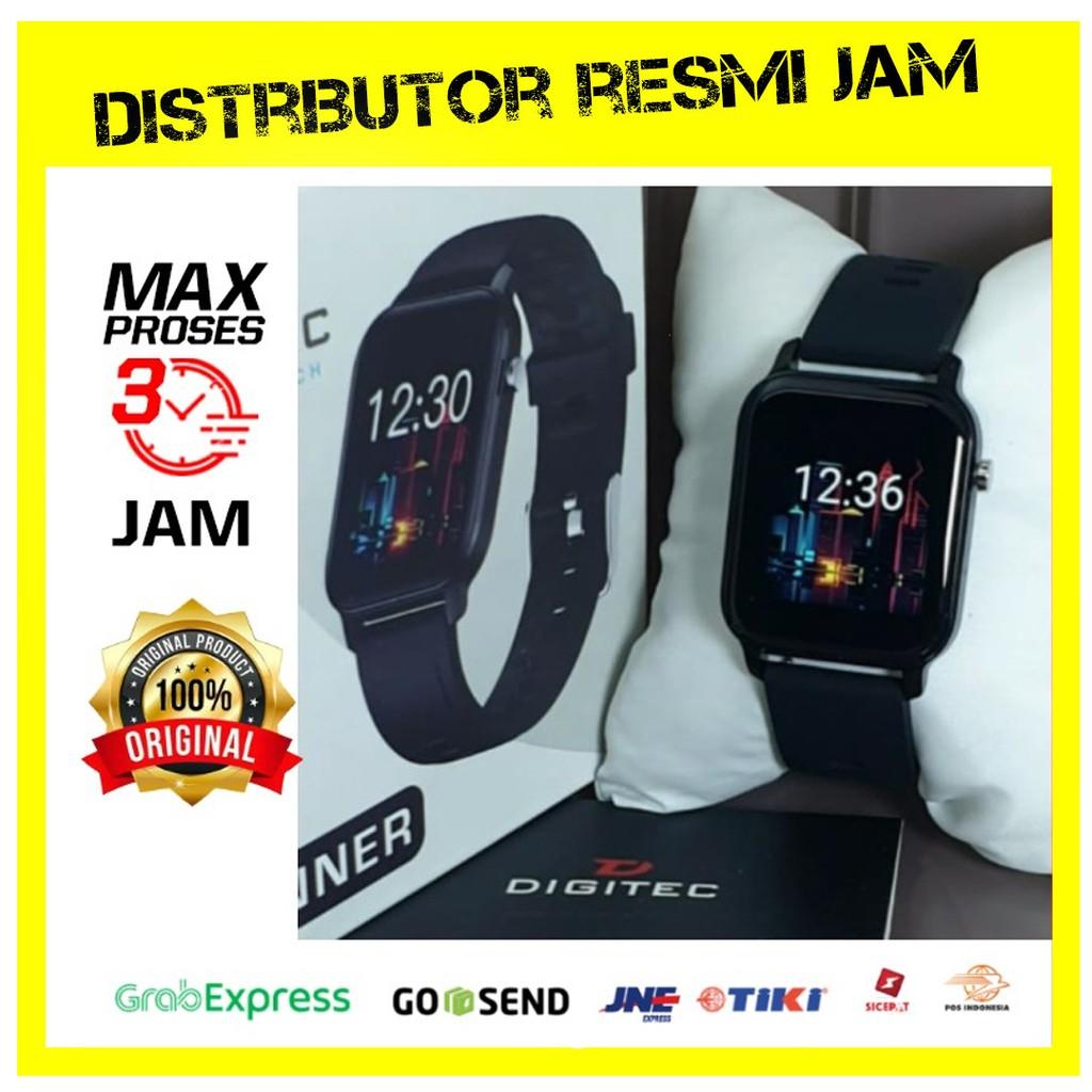 Jam Digitec RUNNER Black - Jam Tangan RUNNER - DIGITEC SMARTWATCH