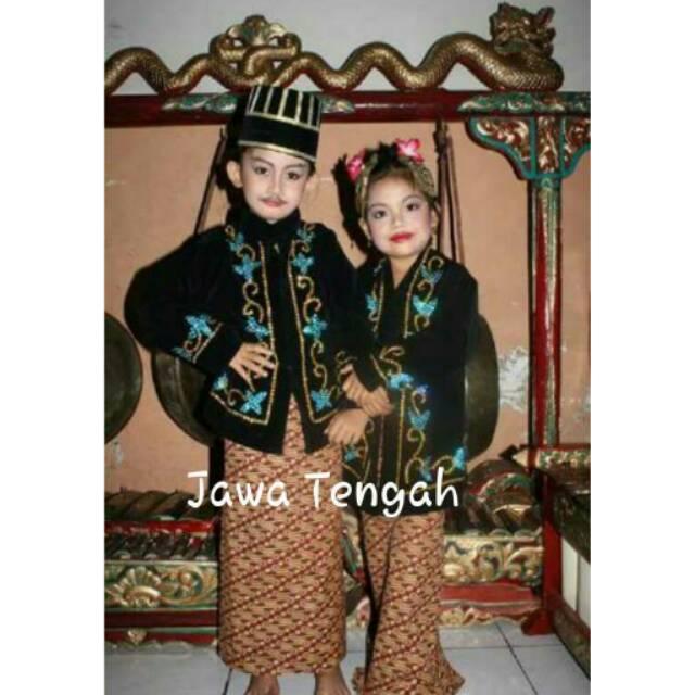 Baju Adat Jawa Tengah Shopee Indonesia