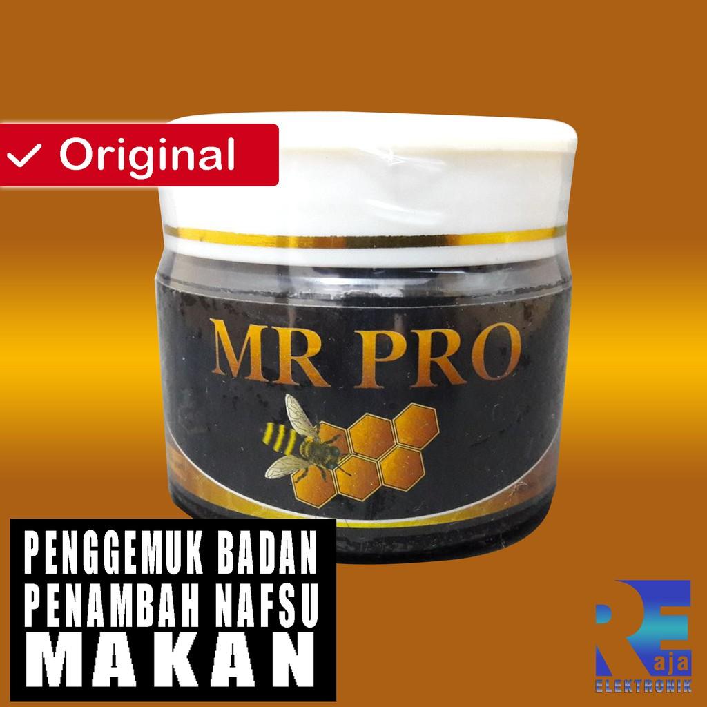 nutrisi Penggemuk Badan Mr Pro Solusi Malas Makan Mr Pro hwi madu penambah nafsu makan alami   Shopee Indonesia