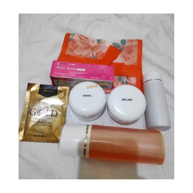 Paket Lengkap Original 30gr plus Serum anti Acne
