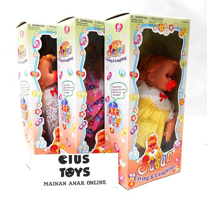 Harga Grosir Mainan Anak Murah Boneka Lucu Baby Pipis Menangis Tertawa  Berbicara  e17c752157
