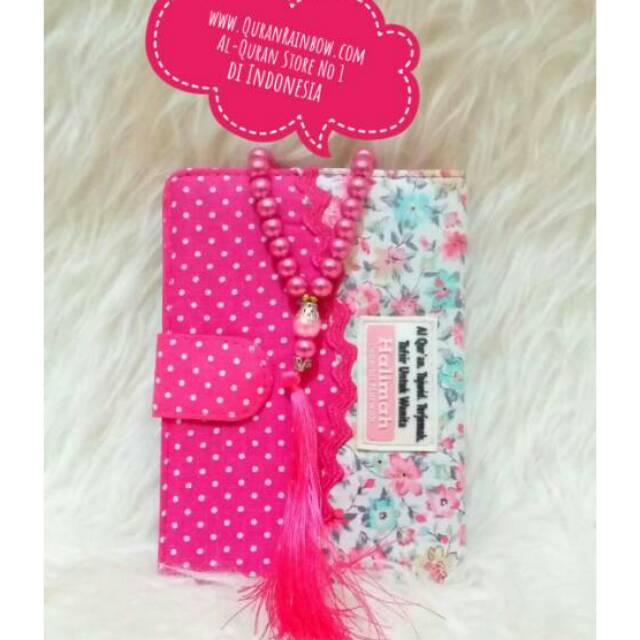 Al Quran Rainbow Halimah Dan Tasbih Cantik Marwah Pelangi Madina Zhafira Shopee Indonesia