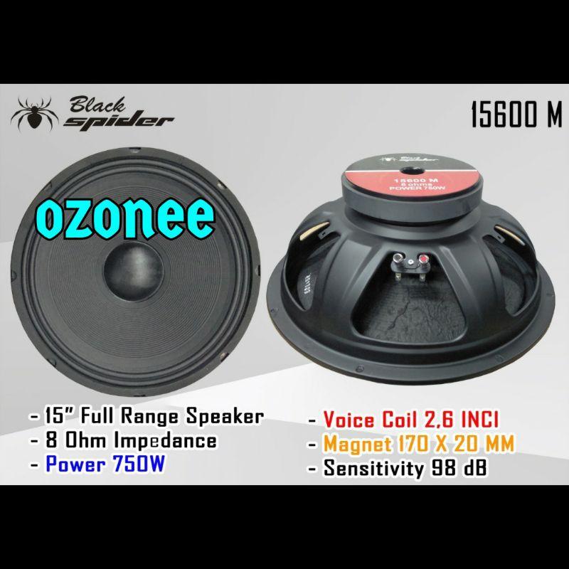SPEAKER 15 INCH BARU BLACK SPIDER 15600 M 15600 M ORIGINAL