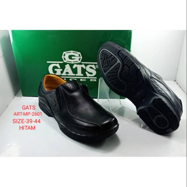 Sepatu Gats MP 2602 sepatu kerja pria bahan kulit warna hitam dan coklat  e660d67f52