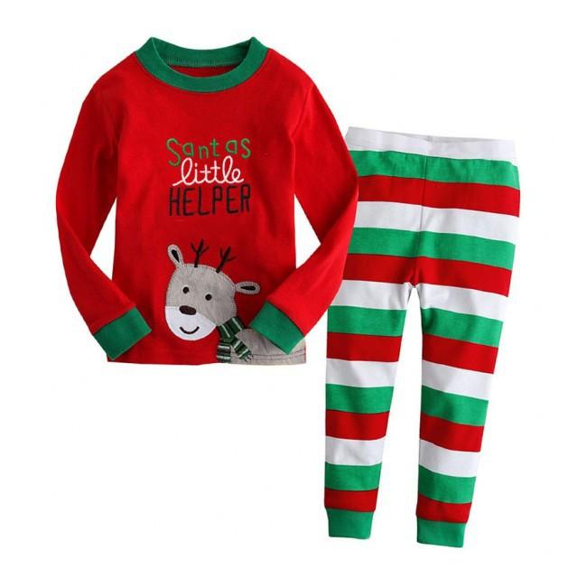 Baju tidur anak laki-laki Piyama GAP Hk Boy Tigger Santa Brown ... 5f0e9deed8