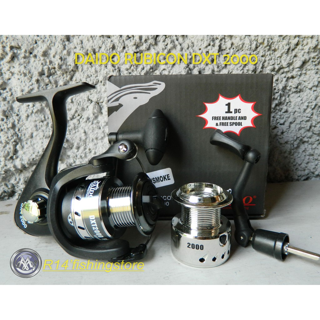 Reel Pancing Daido Turbo Spin 2000 Shopee Indonesia Boxter Dbs 4000