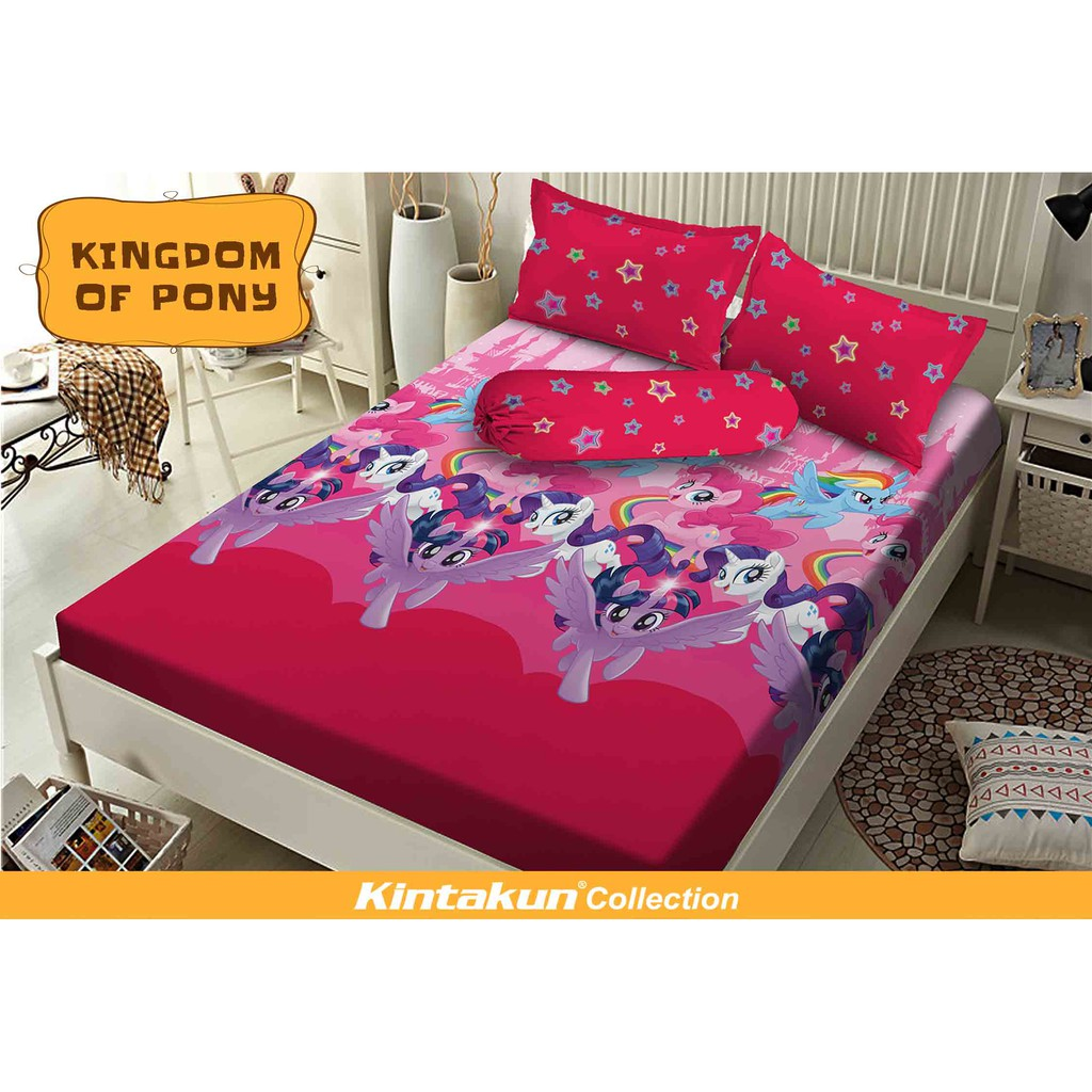 Sprei Kintakun Dluxe 180x200 Motif United Flag Shopee Indonesia 2in1 120 X 200 Single