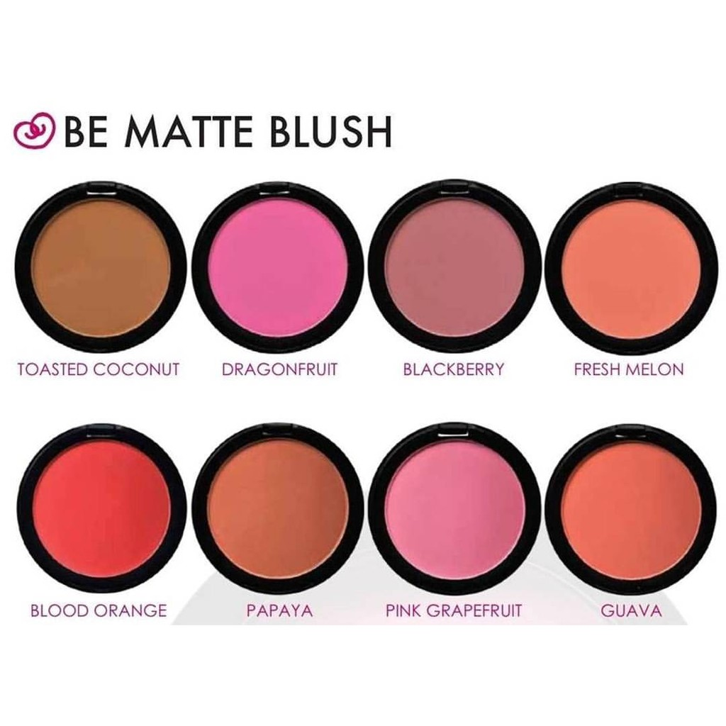 Up To 68 Discount Blush On Ibestz Bioaqua Chic Trendy Soft Rose City Color Be Matte 100 Ori By Col