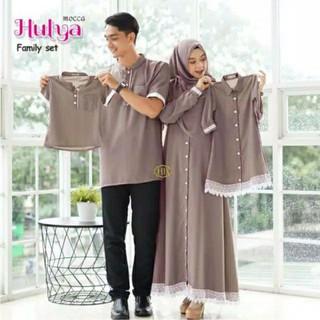 Couple Keluarga Hulya Family Set Gamis Couple Kemeja Couple Shopee Indonesia